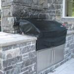 1Elite Blue Granite Sawn Height house BBQ