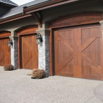 Elite Blue Granite Drystack Ledgerock garage