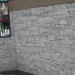Elite Blue Granite Drystack Ledgerock wall