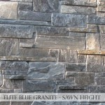 Elite Blue Granite Sawn Height