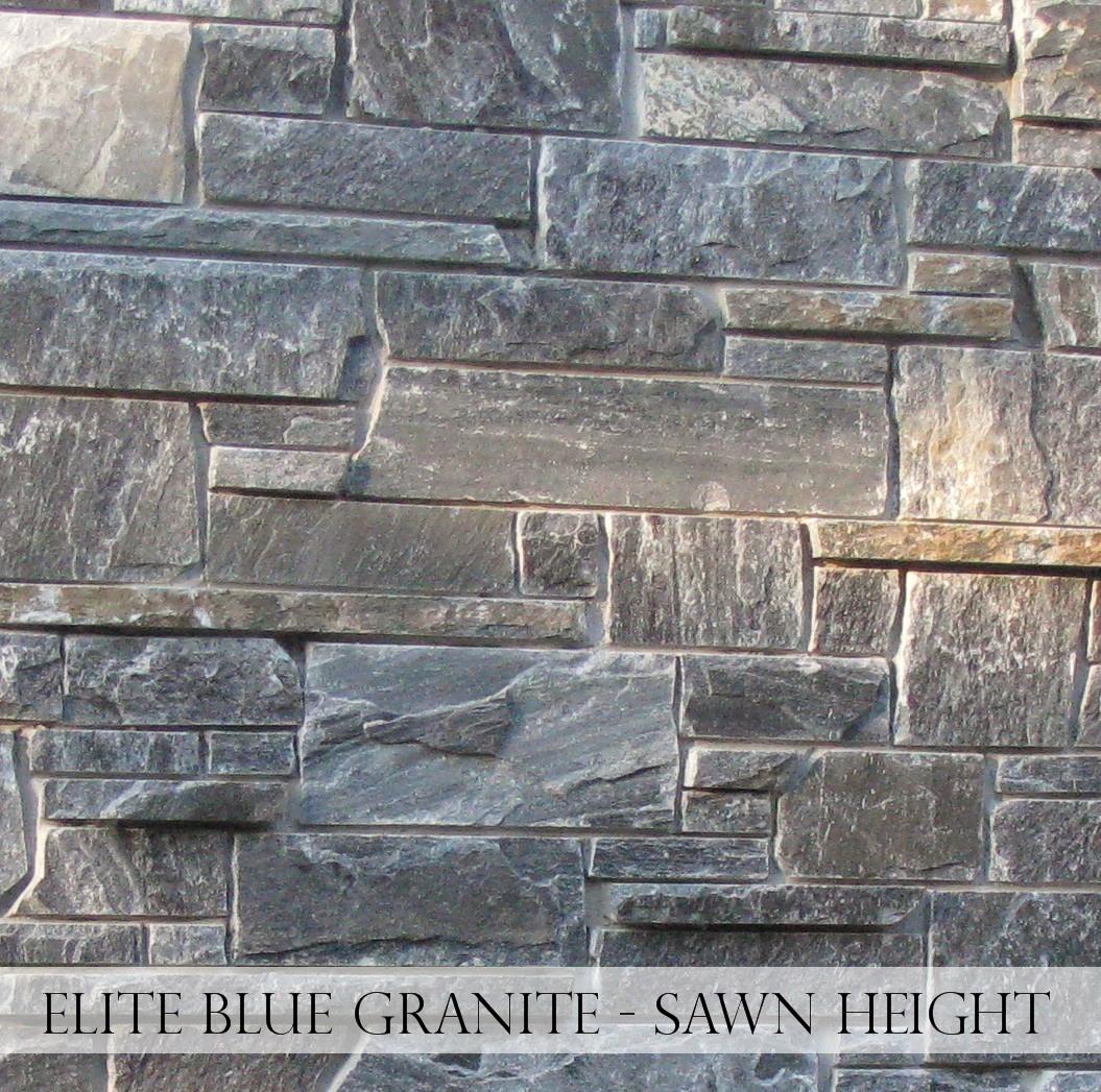 Elite Blue Granite Sawn Height