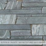 Elite Blue Granite Sawn & Textured Sawn Height