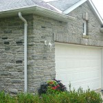Elite Blue Granite Tumbled Ledgerock garage