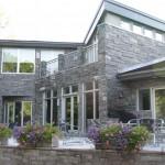 Elite Blue Granite sawn height  house back