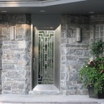 Elite Blue Granite sawn height  house entrance