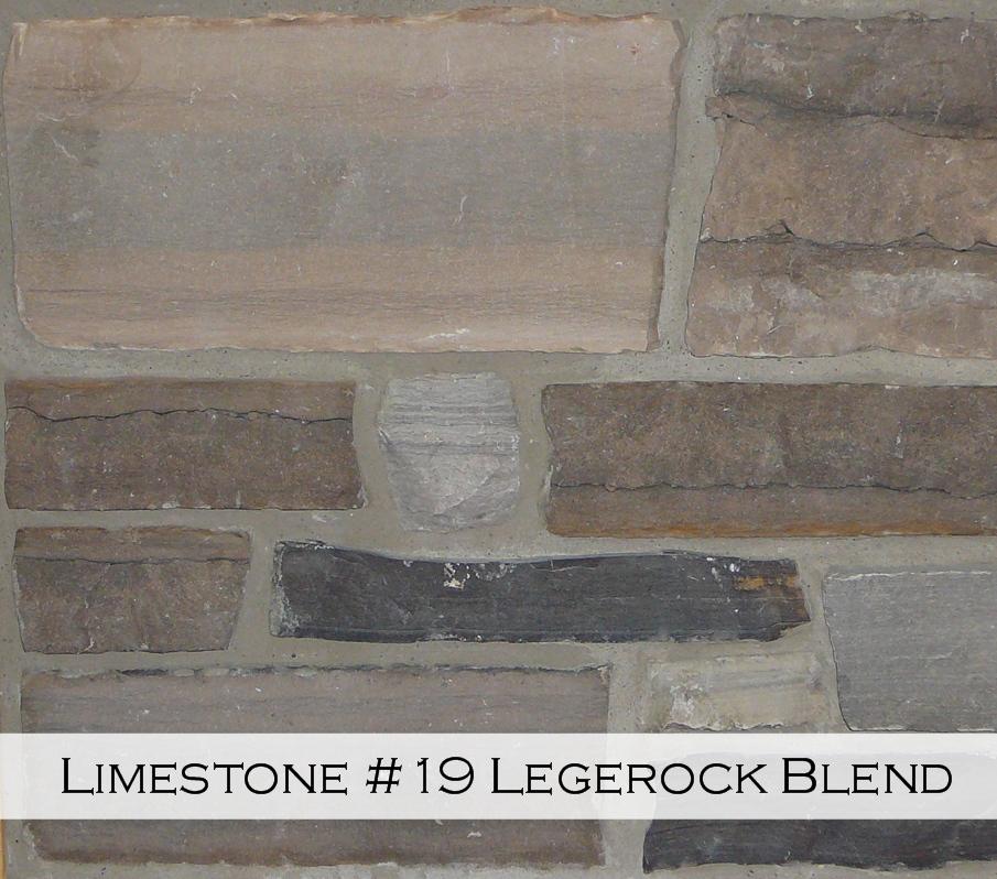 Limestone #19 Legderock Blend