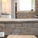 bathtub surrond weatheredge limestone