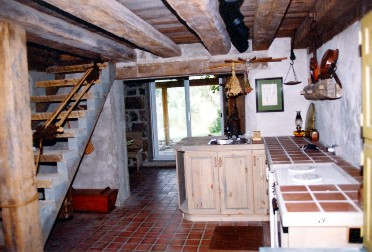 blacksmith shop cottage interior