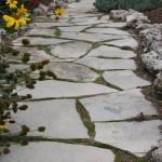 charcoal limestone pathway random flag