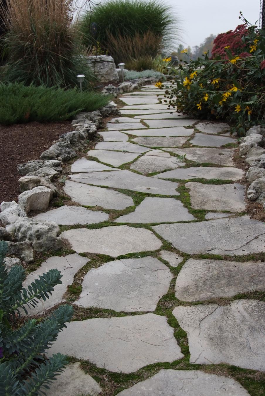 Charcoal Limestone Flagstone Colonial Brick Amp Stone Inc