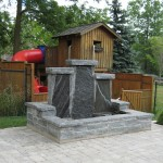 Elite Blue Granite Fountain
