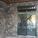 elite blue granite random entrance wall