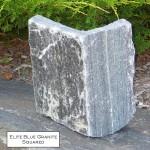 elite blue granite squared veneer corner