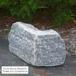 elite blue granite tumbled ledgerock veneer corner