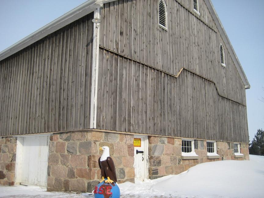 Ewm Barn Walls Colonial Brick Amp Stone Inc