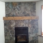 fireplace elite blue granite random