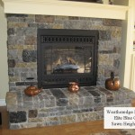 fireplace weatheredge elite blue sawn height blend