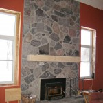 granite blend fireplace