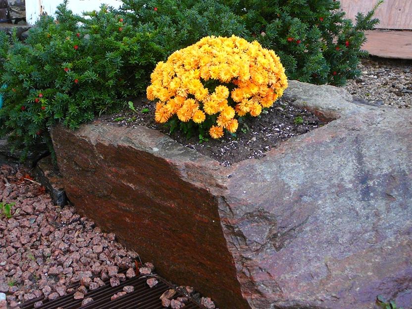 Natural Stone Planter
