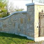 harvest gold limestone squared gateway