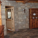 harvest gold limestone tumbled blend indoor wall