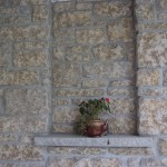Harvest Gold Limestone Tumbled Sawn Height