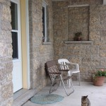 harvest gold limestone tumbled sawn height house detail