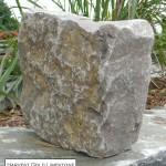 harvest gold limestone tumbled squared veneer corner
