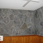 interior stone elite blue granite tumbled wall