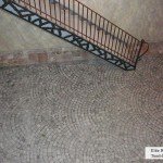 interior stone floor elite blue granite tumbled cobbles