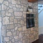interior stone harvest gold limestone tumbled blend kitchen
