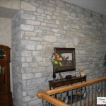 interior stone ottawa valley limestone feature wall