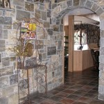 interior stone paulas dream blend wall arch