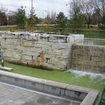 limestone sawn waterfall