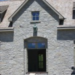 ottawa valley limestone tumbled ledgerock house entrance