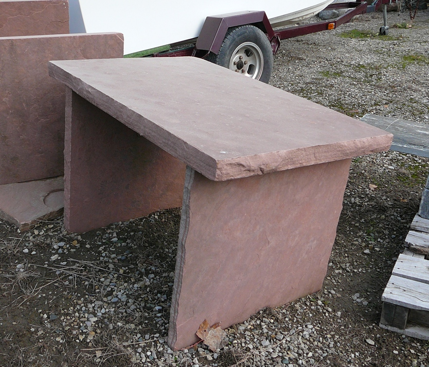 rose sandstone squared table