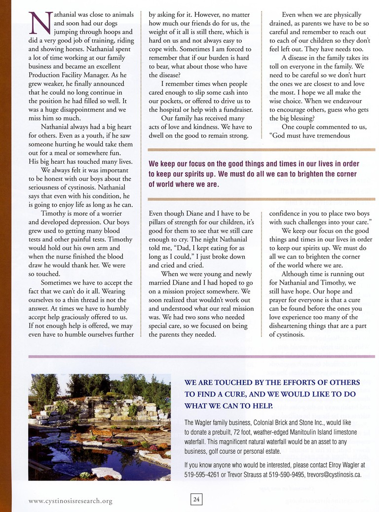 systinocis article last page