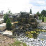 Weatheredge Limestone Waterfall