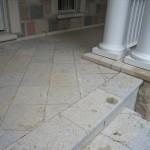 Weatheredge Limestone Square Cut Flagstone - Bush Hammered Finish