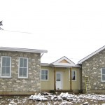 weatheredge limestone tumbled blend house front and side