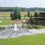Weatheredge Limestone Waterfall and Pond